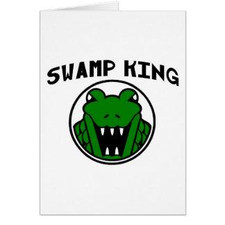 Swamp King Gator Symbol Card