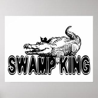 Swamp King Poster