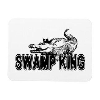 Swamp King Rectangular Photo Magnet