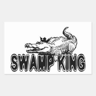 Swamp King Rectangular Sticker
