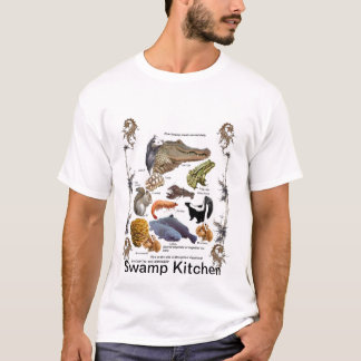 Swamp Kitchen Ingredients Shirt