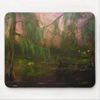 Swamp La Vie: Scouting in Twilight Mouse Pad