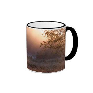 swamp landscape ringer coffee mug