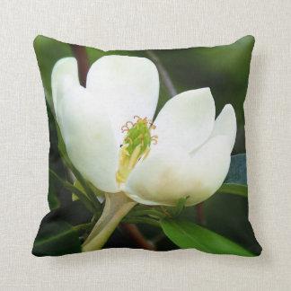 Swamp Magnolia Throw Pillow