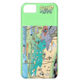 Swamp Map Iphone Cover iPhone 5C Covers