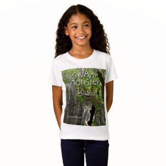 Swamp Monster Island T.shirt for kids T-Shirt