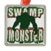 SWAMP MONSTER METAL ORNAMENT