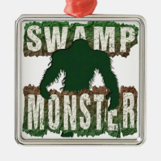 Swamp Monster Metal Ornament at Zazzle