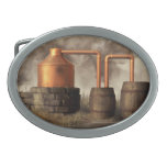 Swamp Moonshine Still Belt Buckle at Zazzle