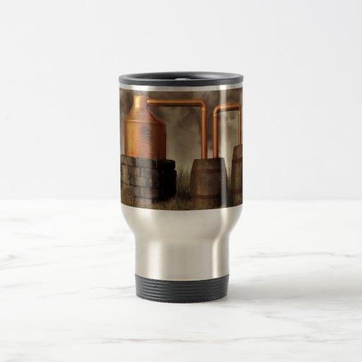 Swamp Moonshine Still Coffee Mugs