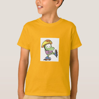 Swamp Mort The Frog Roller Blade T-Shirt