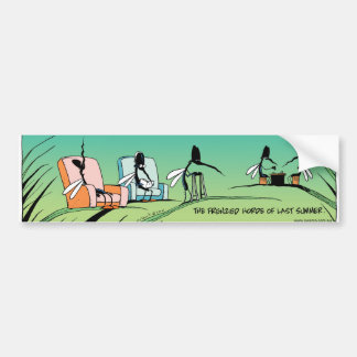Swamp Mosquito Retirement Home Car Bumper Sticker