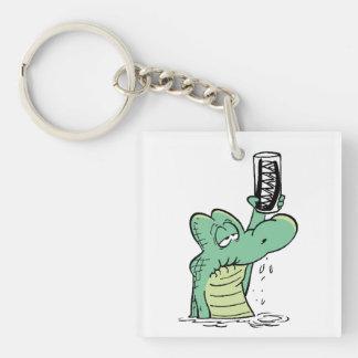 Swamp Old Man Croc Keychain