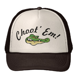 Swamp People - Choot' Em! Hat! Trucker Hat