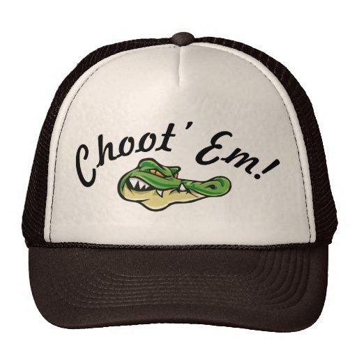Swamp People - Choot' Em! Hat! Trucker Hat