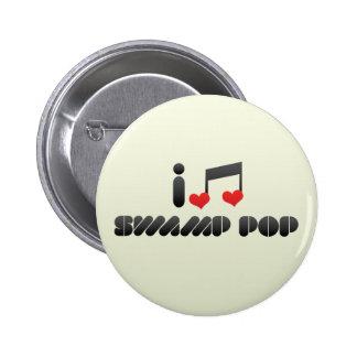 Swamp Pop 2 Inch Round Button