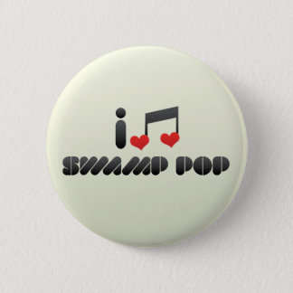 Swamp Pop Pinback Button