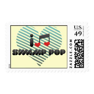 Swamp Pop Postage Stamp