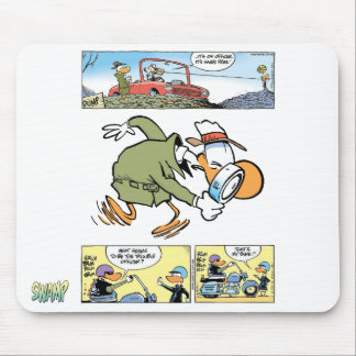 Swamp Poultry Squad Mouse Pad