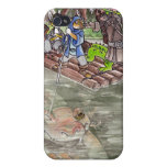 Swamp Raft Cases For iPhone 4