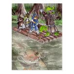 Swamp Raft Postcard