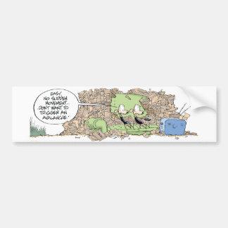 Swamp Rats Junk Avalanche Bumper Sticker