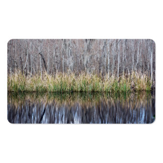 Swamp Reflection Business Card
