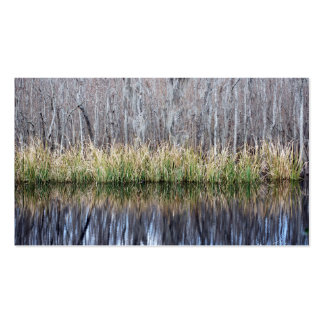 Swamp Reflection Business Card Templates