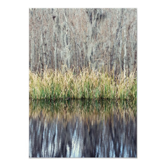 Swamp Reflection Personalized Announcement