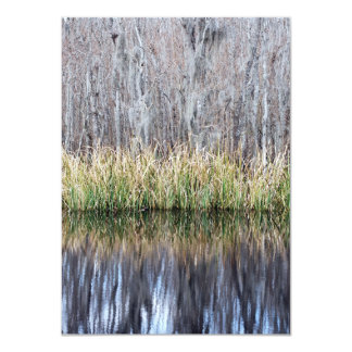 Swamp Reflection Personalized Invitations