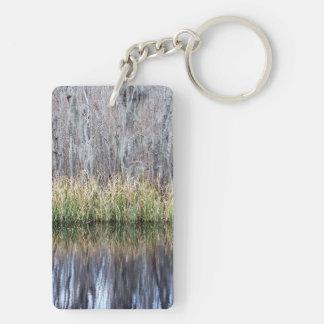 Swamp Reflection Keychain