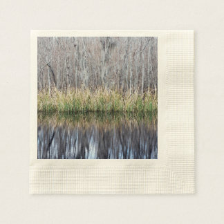 Swamp Reflection Paper Napkins