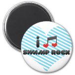 Swamp Rock fan Fridge Magnet