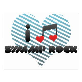 Swamp Rock fan Postcard