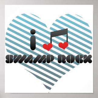 Swamp Rock fan Print