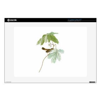 Swamp Sparrow John James Audubon Birds of America Decals For Laptops