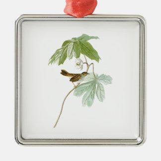 Swamp Sparrow John James Audubon Birds of America Metal Ornament