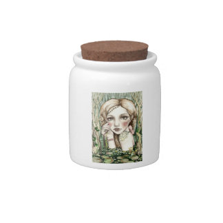 Swamp Sprite Candy Jars