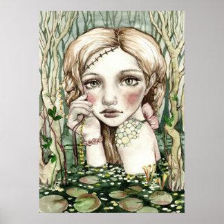 Swamp Sprite Print