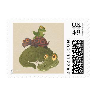 Swamp Squad Postage Stamp