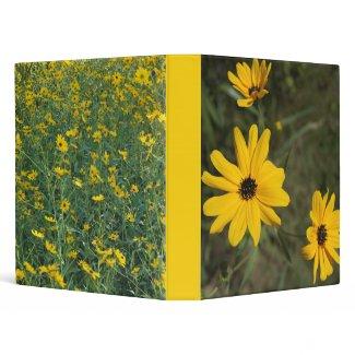 Swamp Sunflowers Galore binder