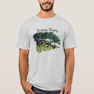 Swamp Thang Louisiana Alligator Hunter Shirt