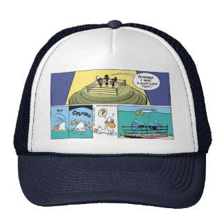 Swamp The Art of Boxing Trucker Hat