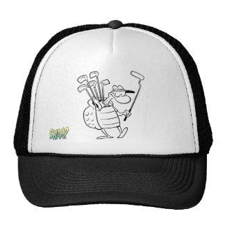 Swamp Turtle Caddy Trucker Hat