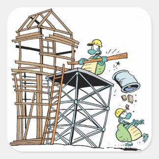 Swamp Turtle Construction Sticker