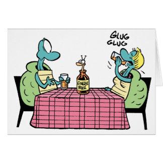 Swamp Turtle Happy Anniversary Card