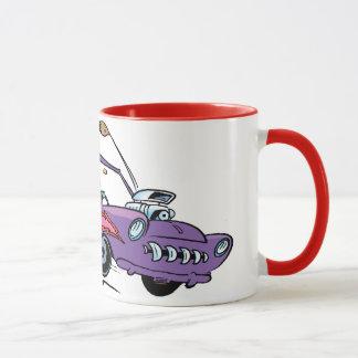 Swamp Turtle Sports Car Mug