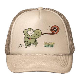 Swamp Wart The Frog Cap Trucker Hat