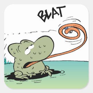 Swamp Wart The Frog Sticker
