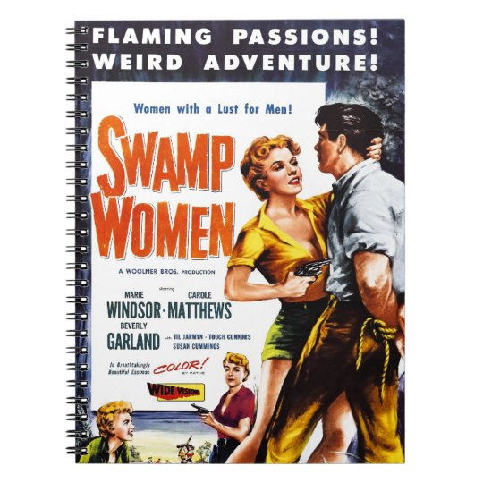 """Swamp Women"" Notebook"